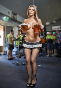 Topless waitress Stripper Ireland
