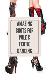 Amazing Pole Dancing Boots